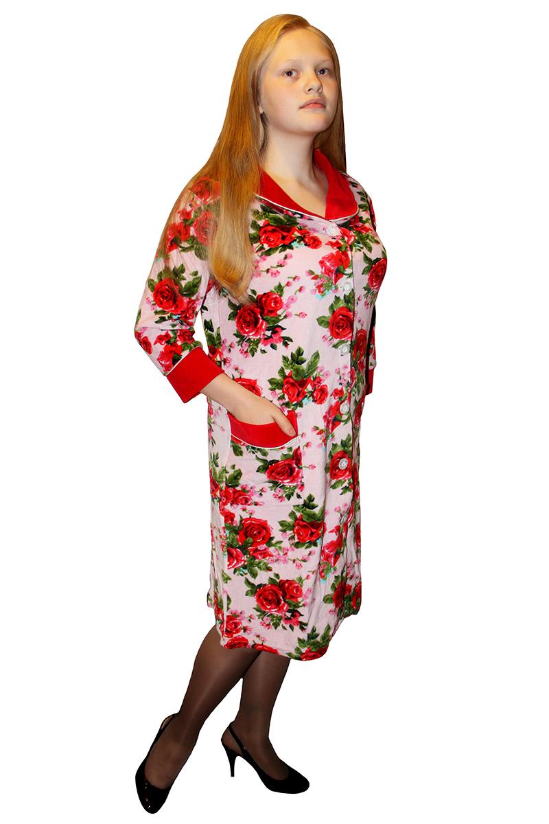 халат велюр для женщин